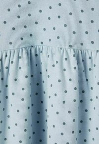 Name it - GEPUNKTETES RIPPDESIGN - Day dress - dusty blue - 3