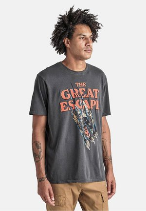 GREAT ESCAPE - Print T-shirt - black