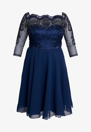CARMELLA DRESS - Cocktailklänning - navy
