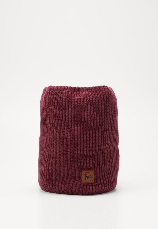 NECKWARMER - Sjaal - rutger maroon