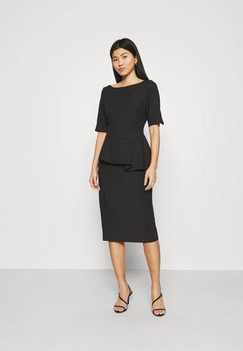 ROMOLAA - Shift dress - black