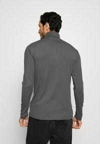 Pier One - Long sleeved top - dark gray - 2