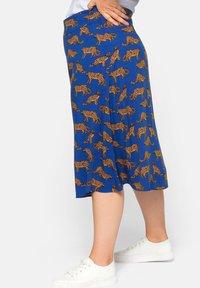 Sheego - A-line skirt - ultramarin - 4