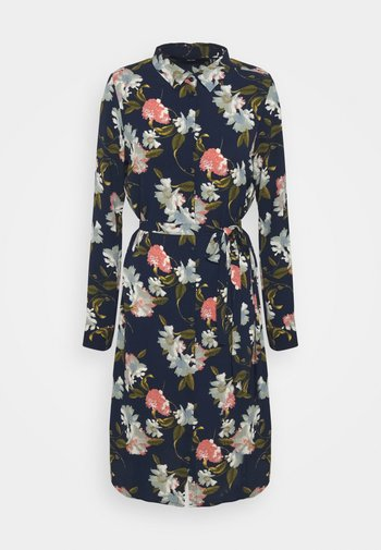 VMSAGA DRESS - Skjortklänning - navy blazer