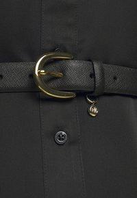 Lauren Ralph Lauren - CROSSHATCH CHARM CLASSC - Belt - black - 1