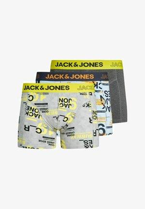 3 PACK - Underkläder - yellow