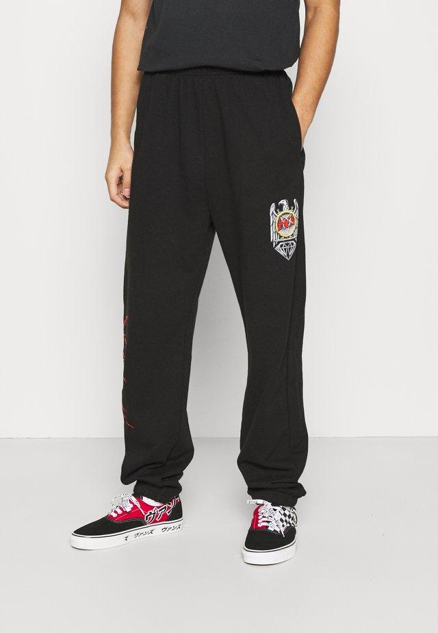 BRILLIANT SWEATPANTS - Pantalon de survêtement - black