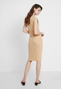 KIOMI - Shift dress - sand - 3