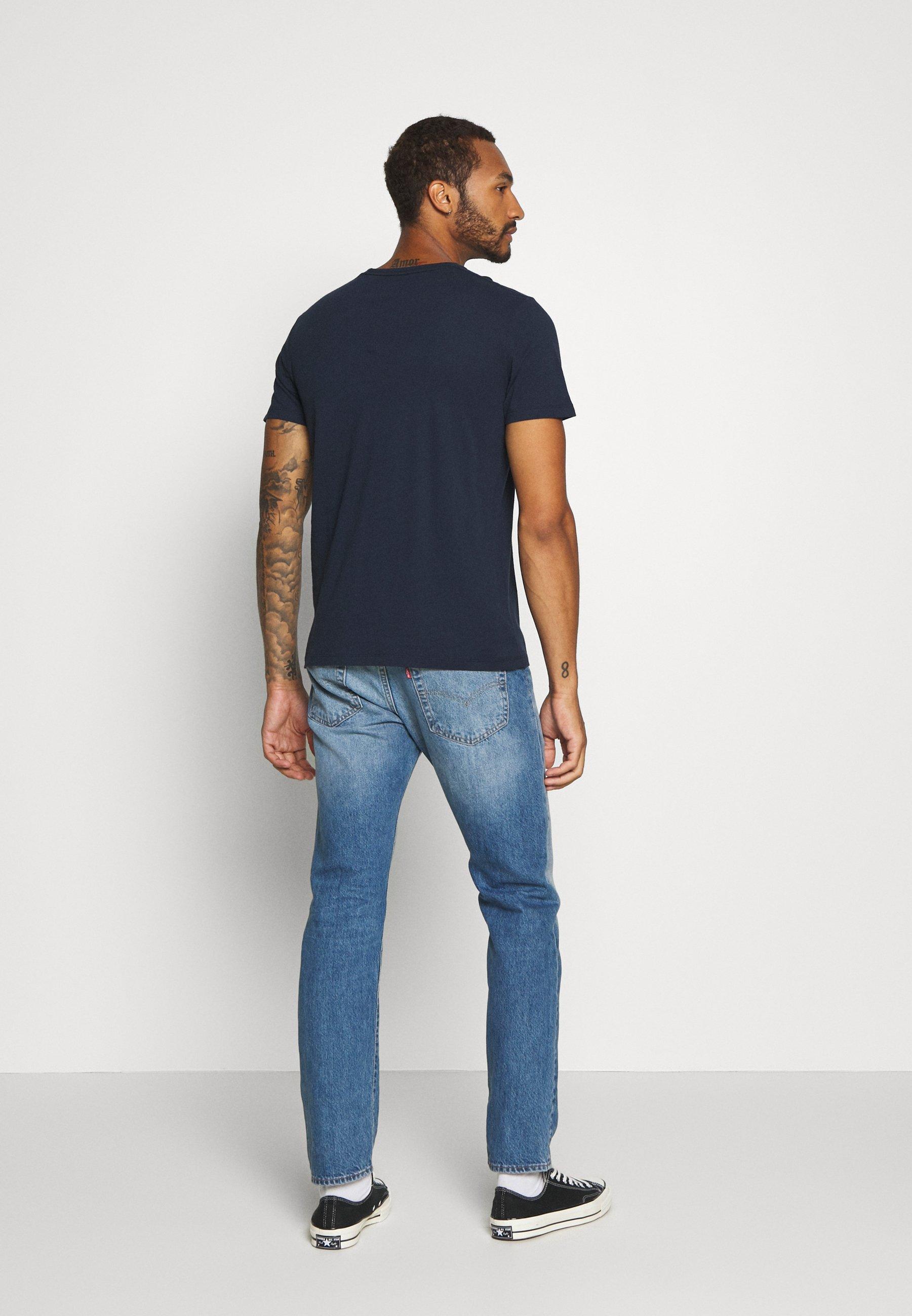 Abercrombie & Fitch Graphic 3 Pack - T-shirt Z Nadrukiem White