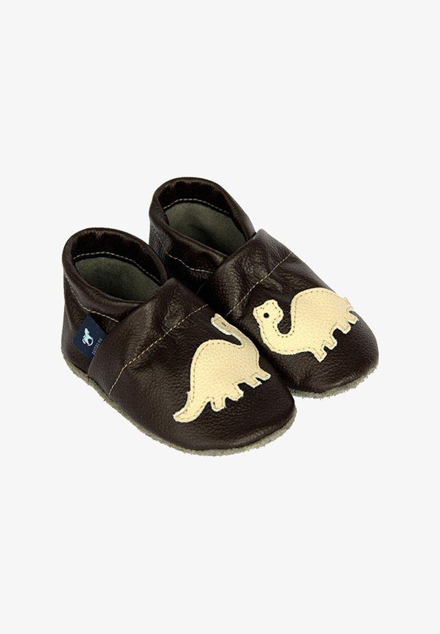 First shoes - dunkelbraun/beige