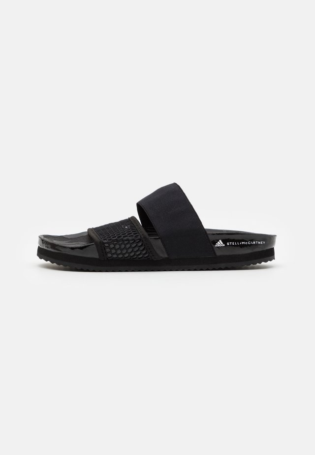 ASMC LETTE - Badslippers - core black/footwear white