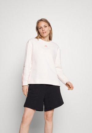Sweater - white/ambient blush