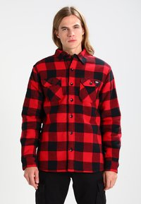 Dickies - LANSDALE SHERPA LINED  - Shirt - red - 0