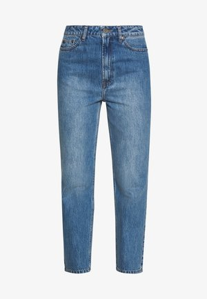 DACY MOM JEANS - Džíny Straight Fit - medium blue