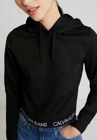 Calvin Klein Jeans - LOGO MILANO HOODIE - Hoodie - black - 4