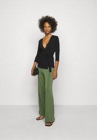 By Malene Birger - MIELA - Trousers - clover green - 1