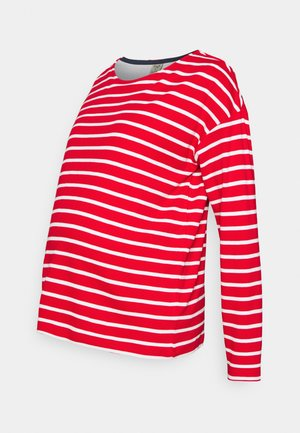 TRICIA  - Long sleeved top - tango red breton