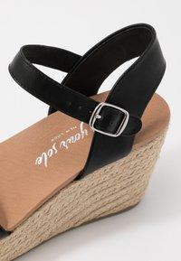 New Look - PICKLE - Sandalen met hoge hak - black - 2