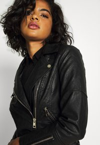River Island - Faux leather jacket - black - 3