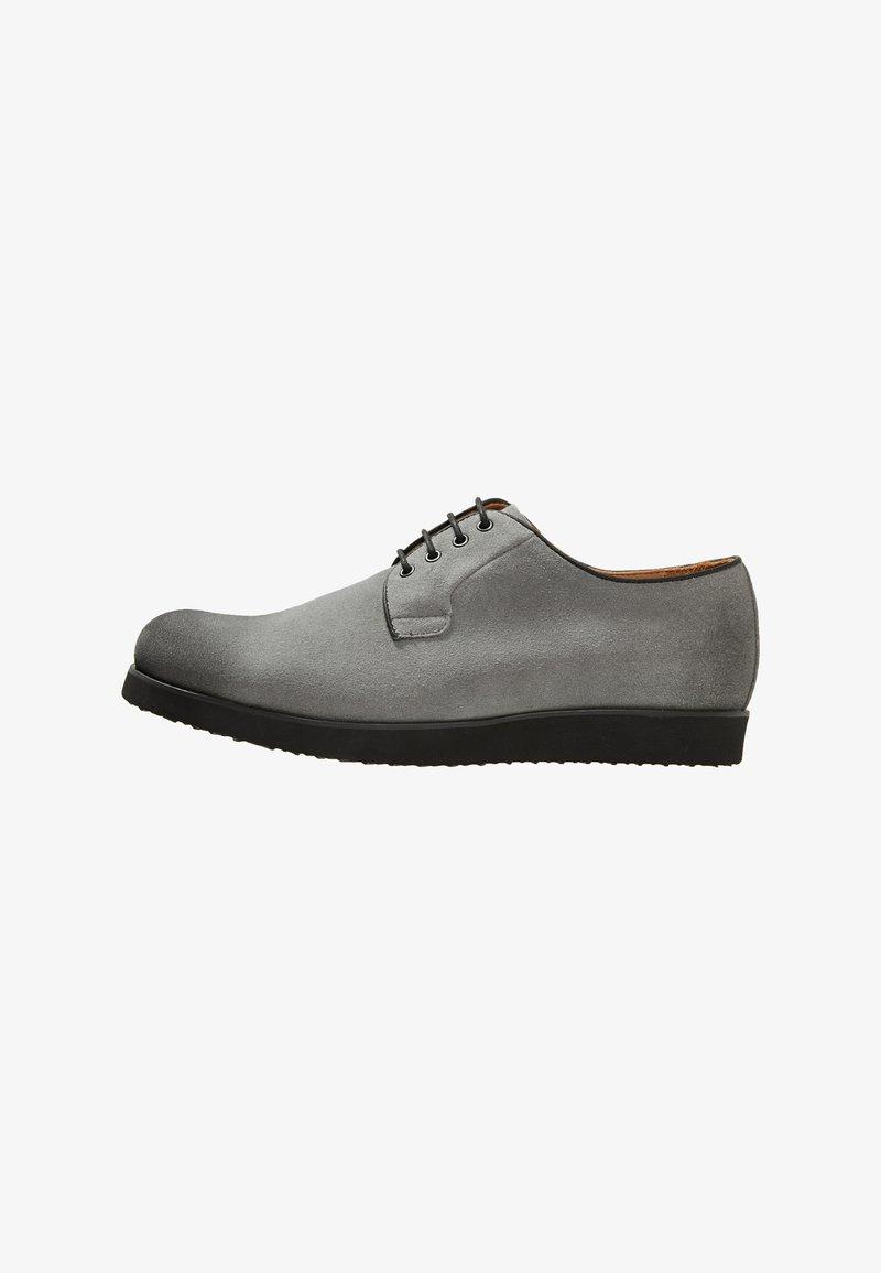 NOIRE LINE - MARC - Volnočasové šněrovací boty - grey
