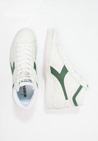 Diadora - GAME WAXED - Sneakers hoog - white/fogliage - 1