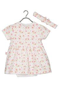 Blue Seven - ROMANTIC ROSES - Day dress -  weiss aop - 1