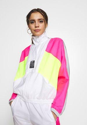 RETRO TRACK JACKET - Training jacket - white