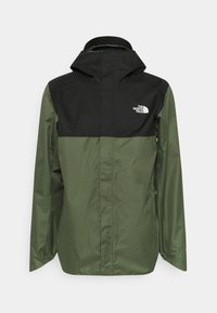 The North Face - QUEST ZIP IN JACKET - Chaqueta Hard shell - thyme/black - 4