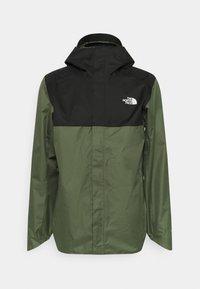 QUEST ZIP IN JACKET - Hardshell jacket - thyme/black