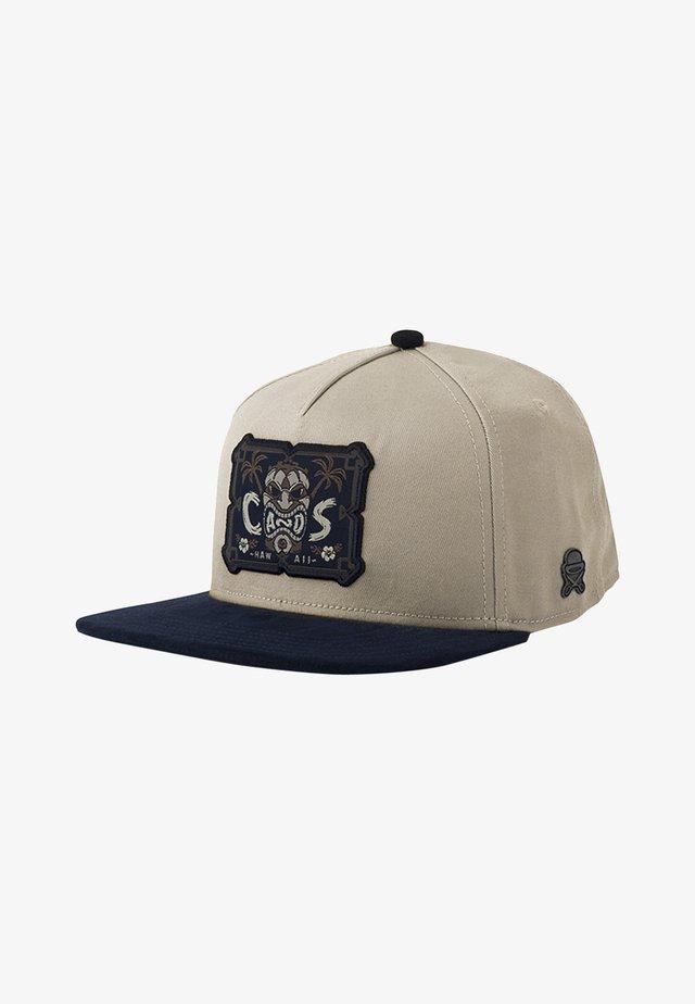 CAYLER & SONS ACCESSOIRES C&S CL ALELO CAP - Keps - sand/navy