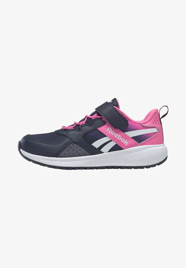 REEBOK ROAD SUPREME 2 ALT SHOES - Obuwie do biegania treningowe - dark blue/pink