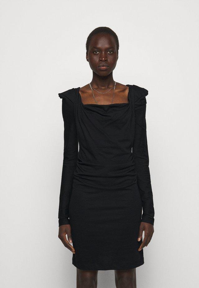 ELIZABETH DRESS - Jerseykleid - black