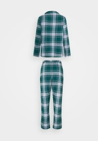 Hunkemöller - CHECK SET - Pyjama - atlantic deep - 1