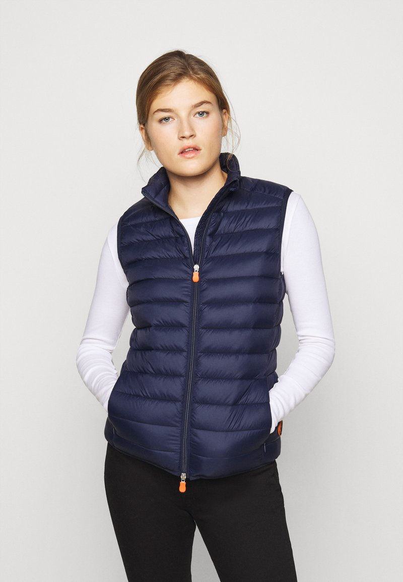 Save the duck - GIGAY - Waistcoat - navy blue