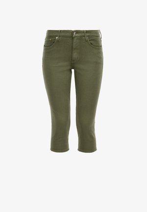 CAPRI - Denim shorts - khaki