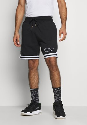 OWN BRAND WARM UPS - Sports shorts - black