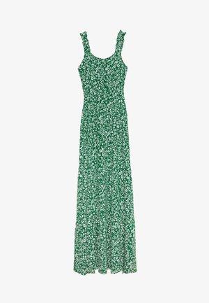 DITSY RUFFLE STRAP MAXI DRESS - Day dress - green