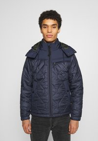 G-Star - ATTACC HEATSEAL QUILTED - Light jacket - namic heatpress padded sartho blue - 0