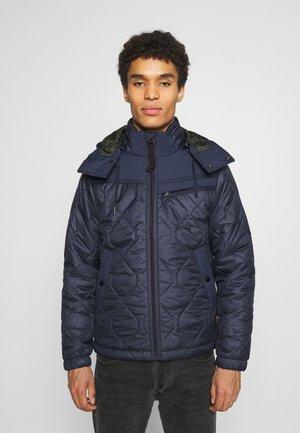 ATTACC HEATSEAL QUILTED - Light jacket - namic heatpress padded sartho blue