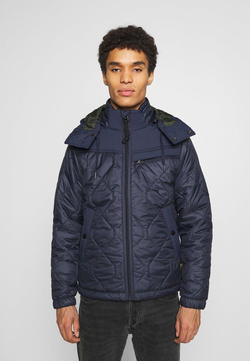 G-Star - ATTACC HEATSEAL QUILTED - Light jacket - namic heatpress padded sartho blue