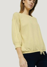 TOM TAILOR DENIM - Long sleeved top - soft yellow - 3