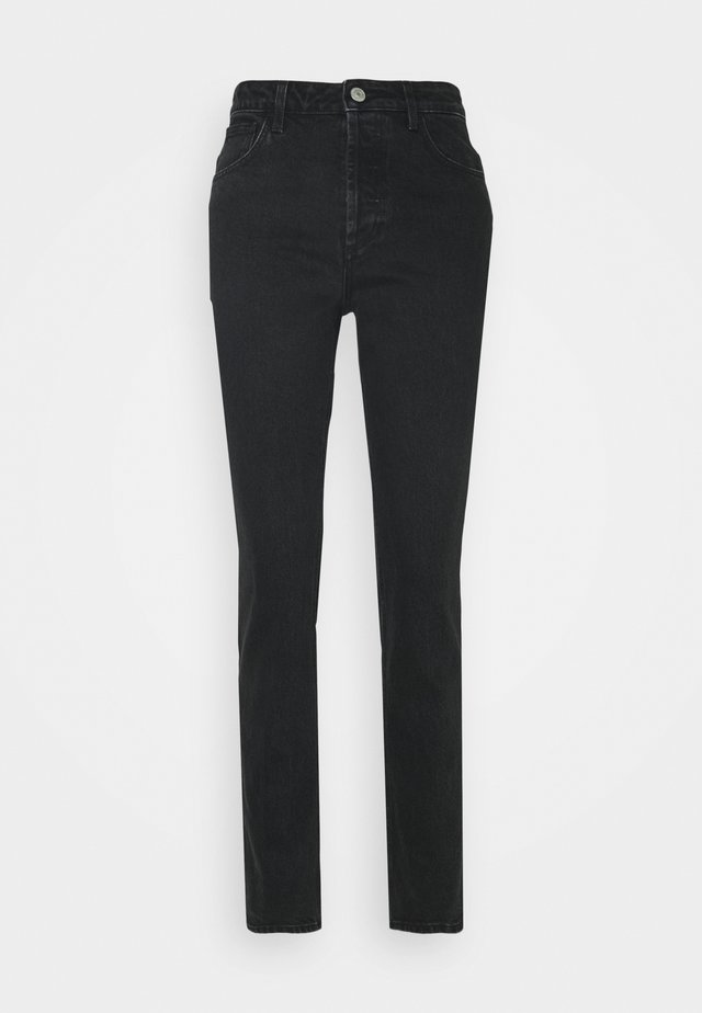 PAOLA - Jeans straight leg - black