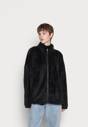 JACKET - Fleece jacket - black