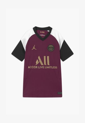 PARIS ST GERMAIN UNISEX - Club wear - bordeaux/truly gold