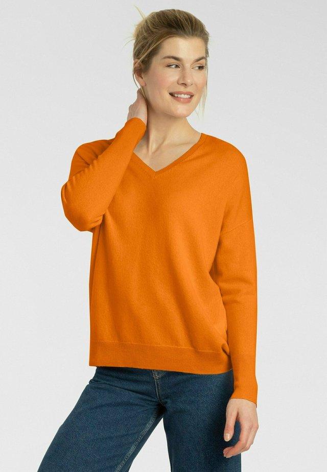 Pullover - spicy orange