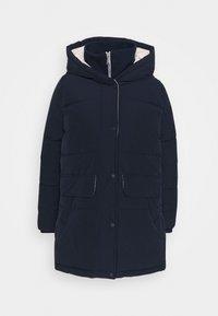 LUXURY PUFFER - Winter coat - sky captain blue