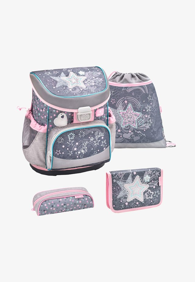 SET 4 TEILIG - School set - light pink