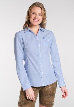 NEST - Button-down blouse - blue