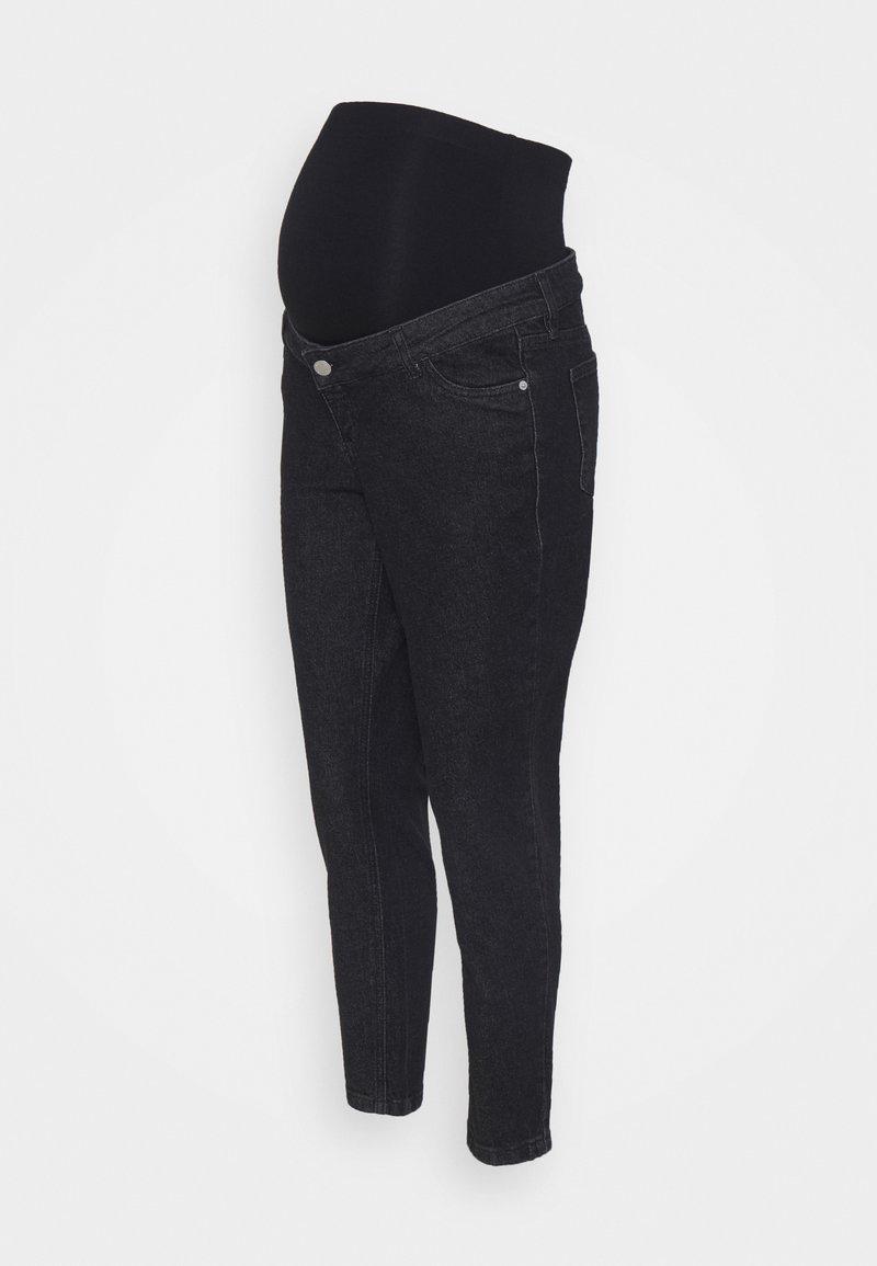 MAIAMAE - MOM - Jeansy Straight Leg - washed black
