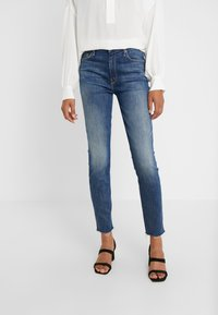 Mother - HIGH WAISTED LOOKER ANKLE CHEW - Jeans Skinny Fit - not rougn enough - 0
